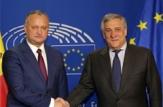 Igor Dodon a avut o întrevedere cu Antonio Tajani, Președintele Parlamentului European