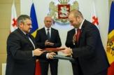 Republica Moldova și Georgia au semnat astăzi două documente privind consolidarea relațiilor bilaterale